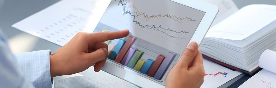 Looking at graphs on iPad